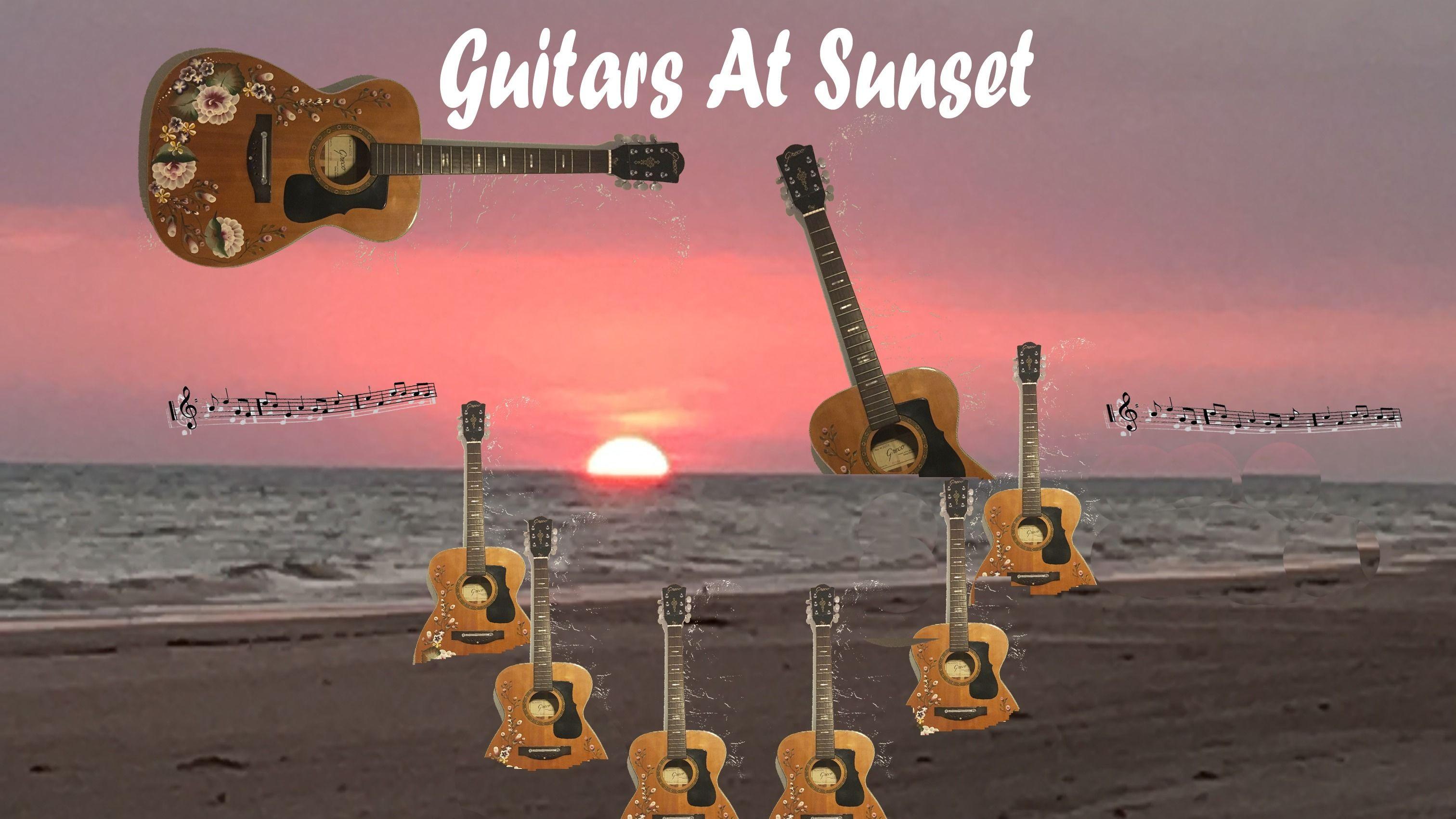 Guitars at Sunset