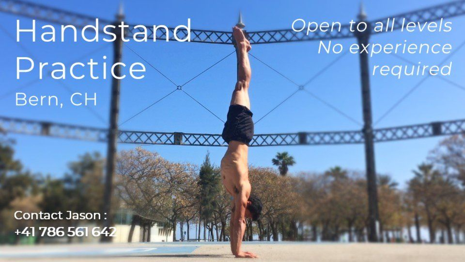 Handstand & Mobility Practice, Bern - for all levels