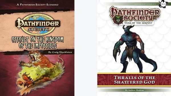 Calendrier Pathfinder.Assault On The Kingdom Of The Impossible Thralls Of The