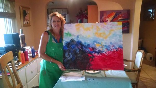 Photos sip and paint in albuq wine down w art for for Paint and wine albuquerque
