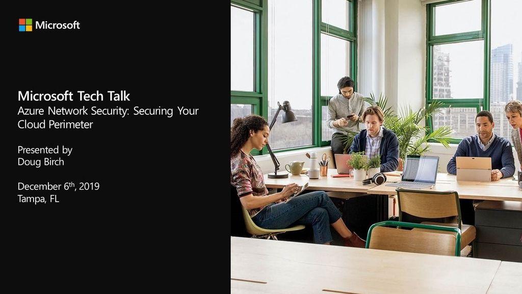 Microsoft Tech Talks - Florida