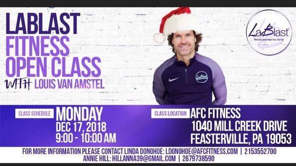 louis van amstel workout