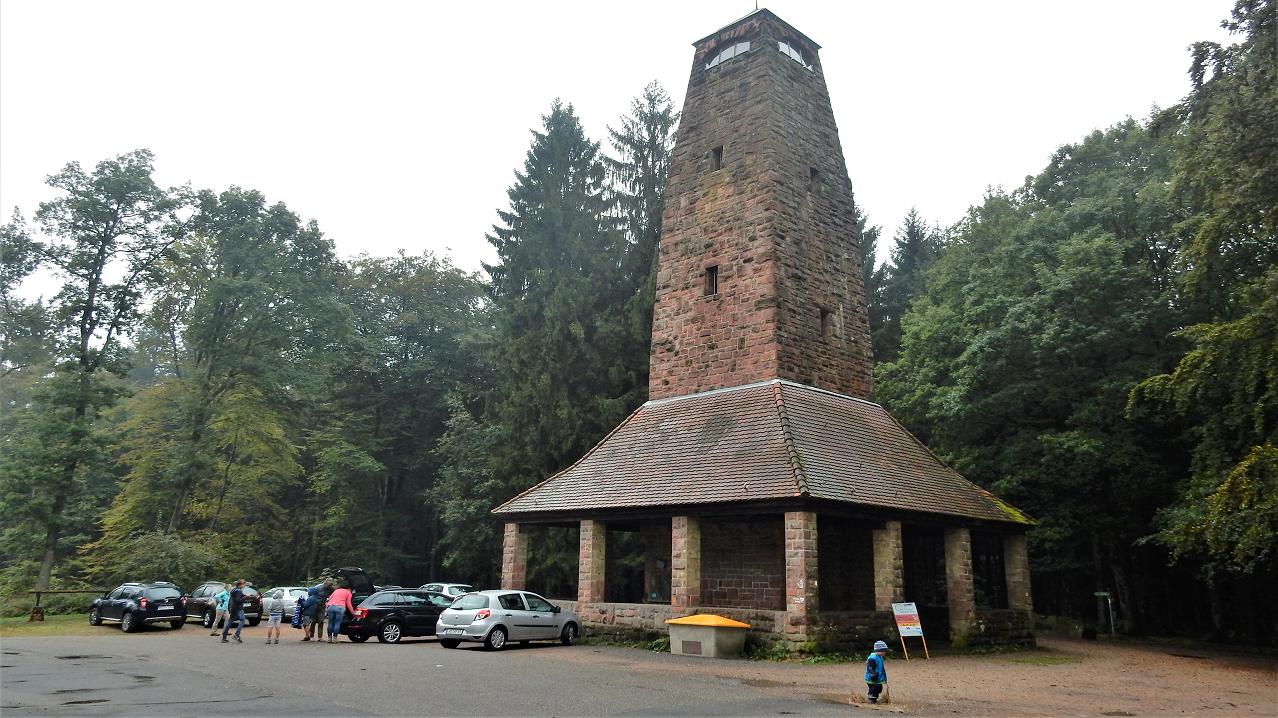 Dossenheim > Weißer Stein > Teltschik-Tower > Kernstock-Klause > Dossenheim