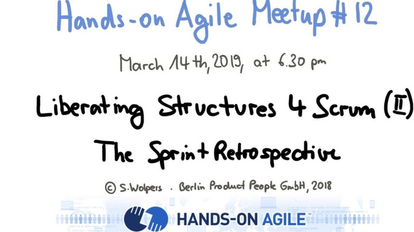 TW hosts: Liberating Structures for Scrum: The Sprint