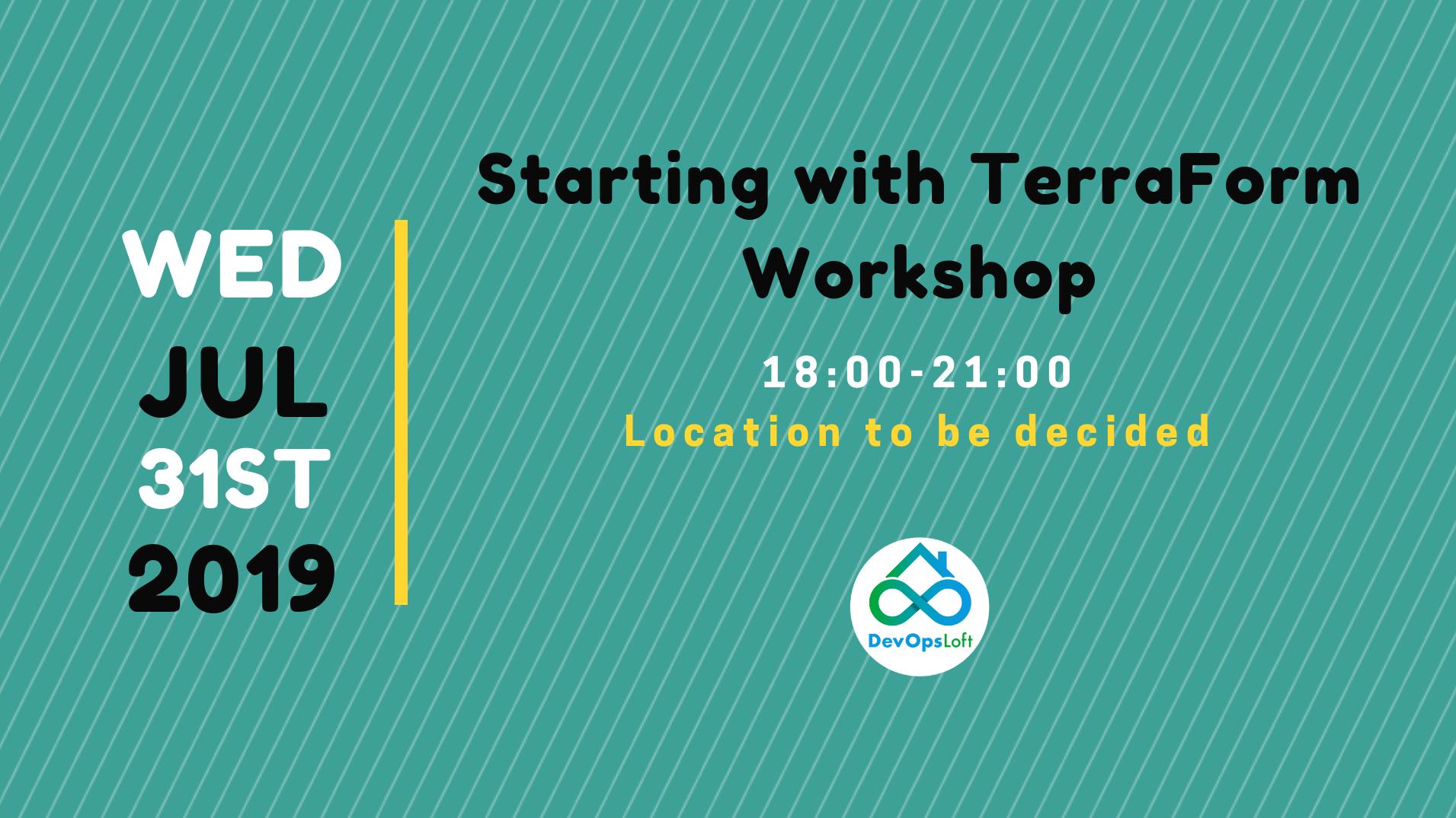 Starting with TerraForm workshop