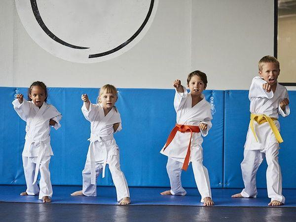 Initiation enfant au Karaté avec Atlas Karaté Shotokan
