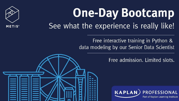 Metis Data Science One-Day Bootcamp (All Slots Taken for 6