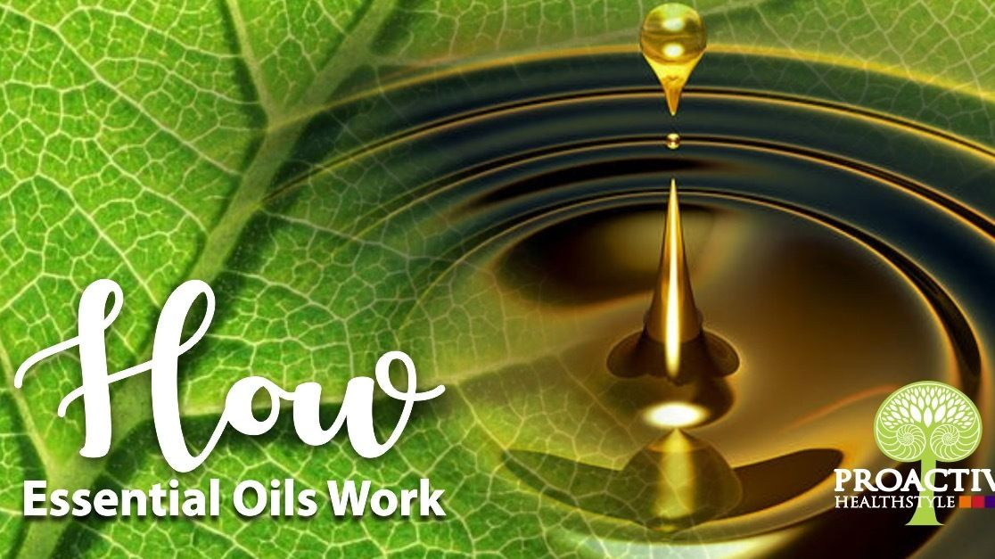 Healthy Living with Essential Oils Meetup