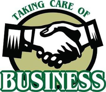 taking care of business or the crisis is ebbing ...