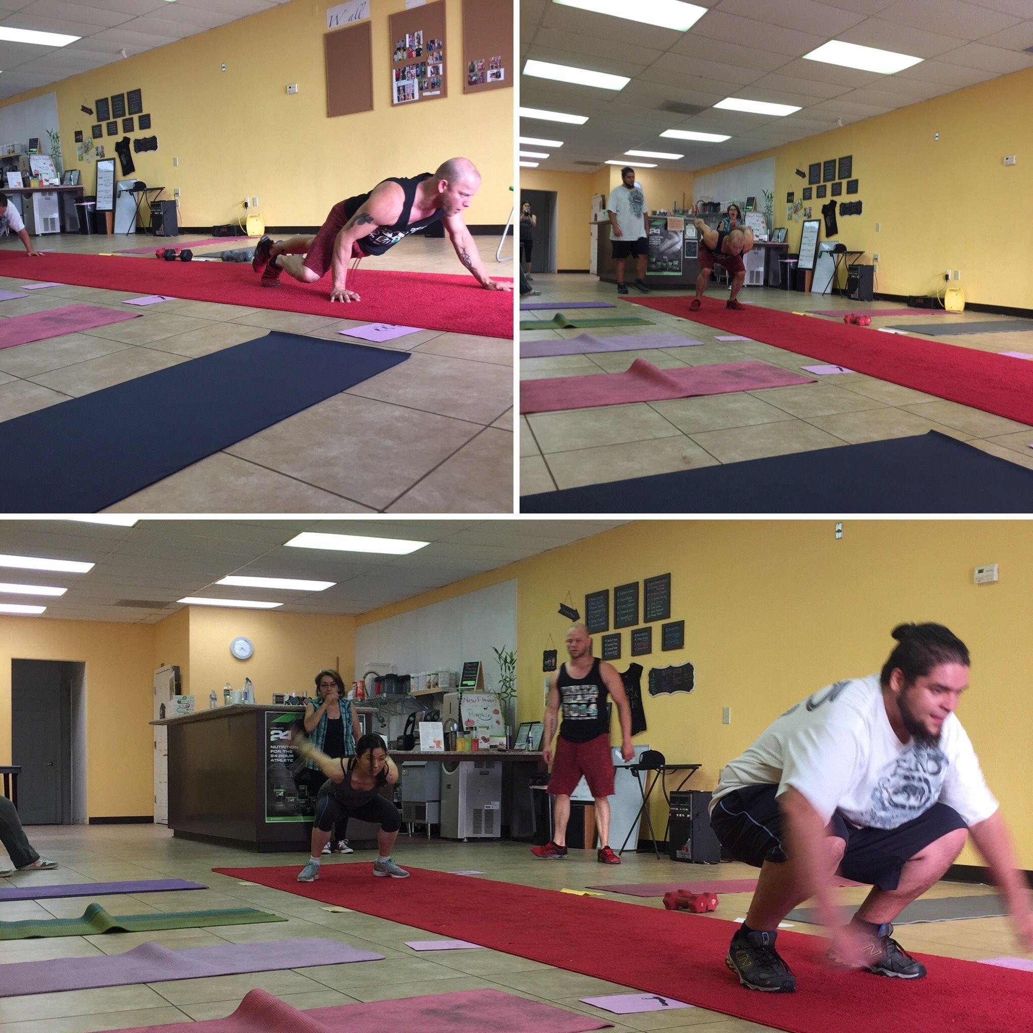 Sacramento Free Workout