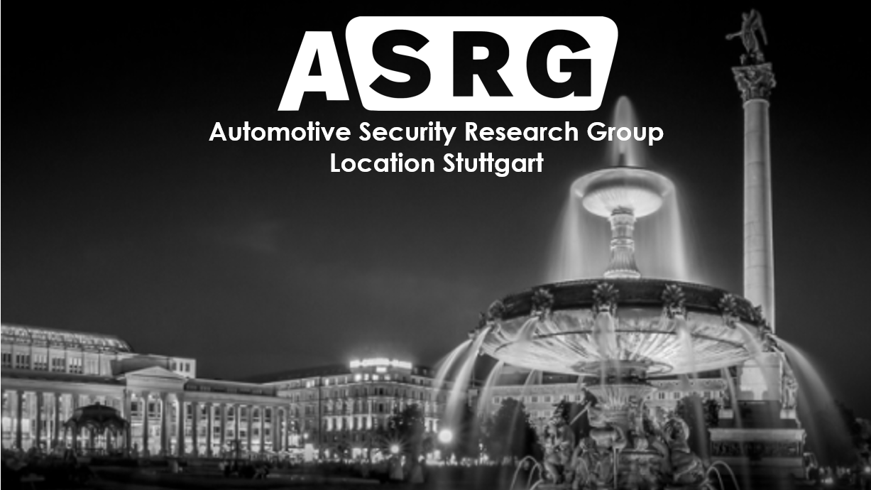 Automotive Security Research Group Stuttgart (ASRG-S)