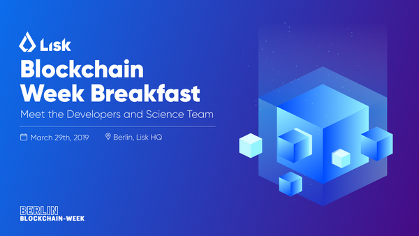 Notifications by blockchain team