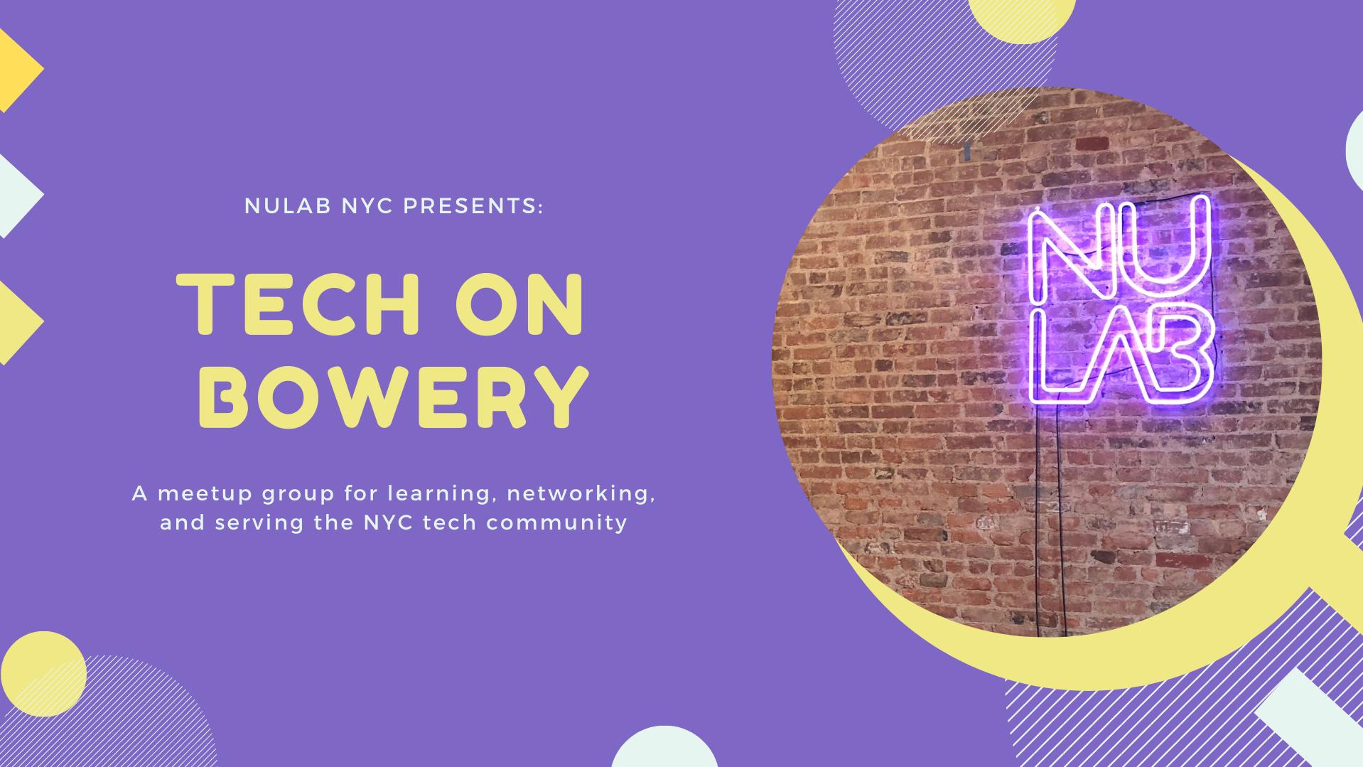 Tech on Bowery