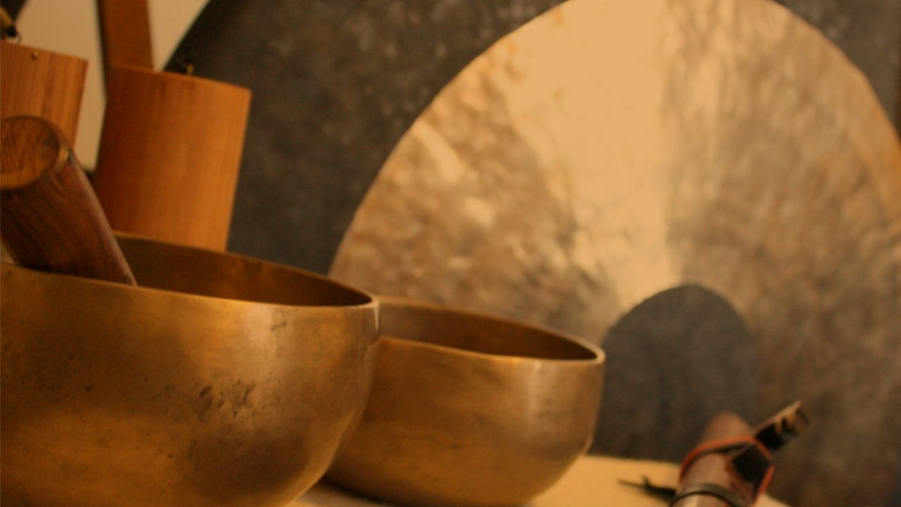 Gong, Crystal Singing Bowl Meditation - (Booking Only Event)