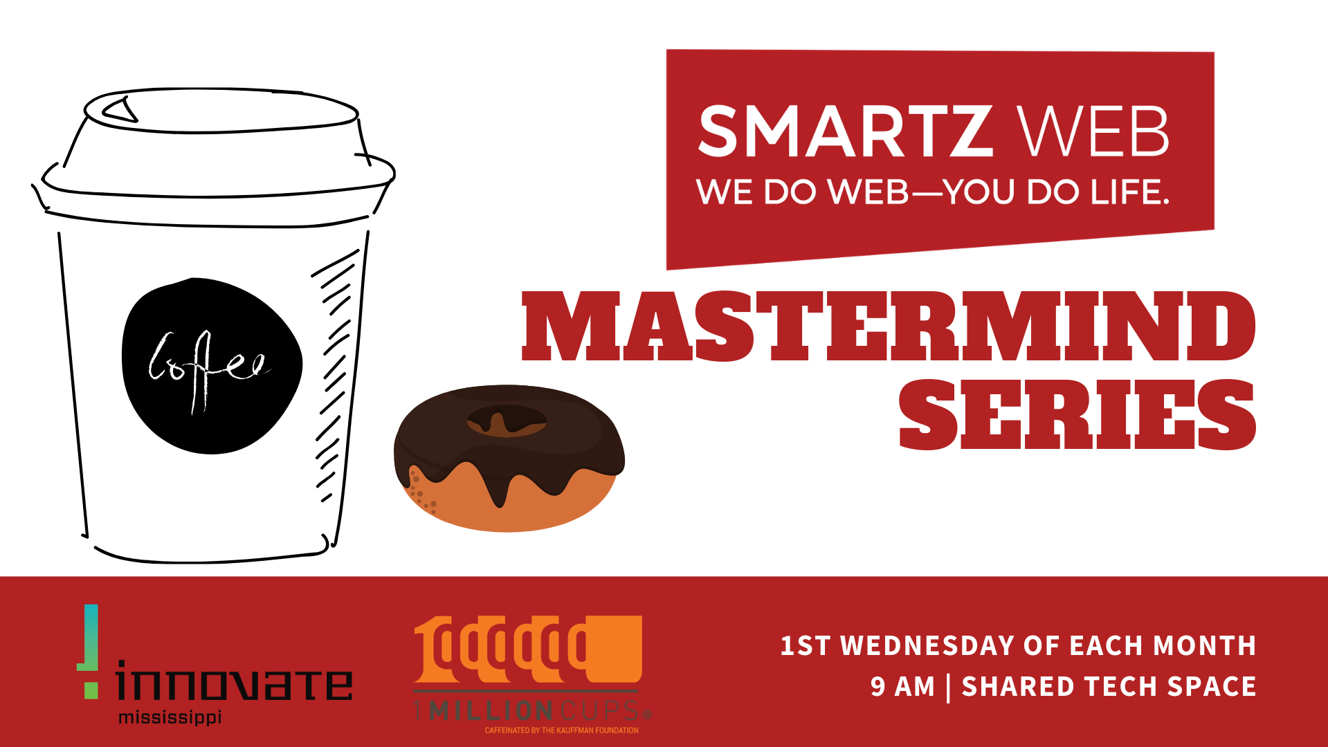 Smartzweb's Mastermind Series - Donuts and Coffee