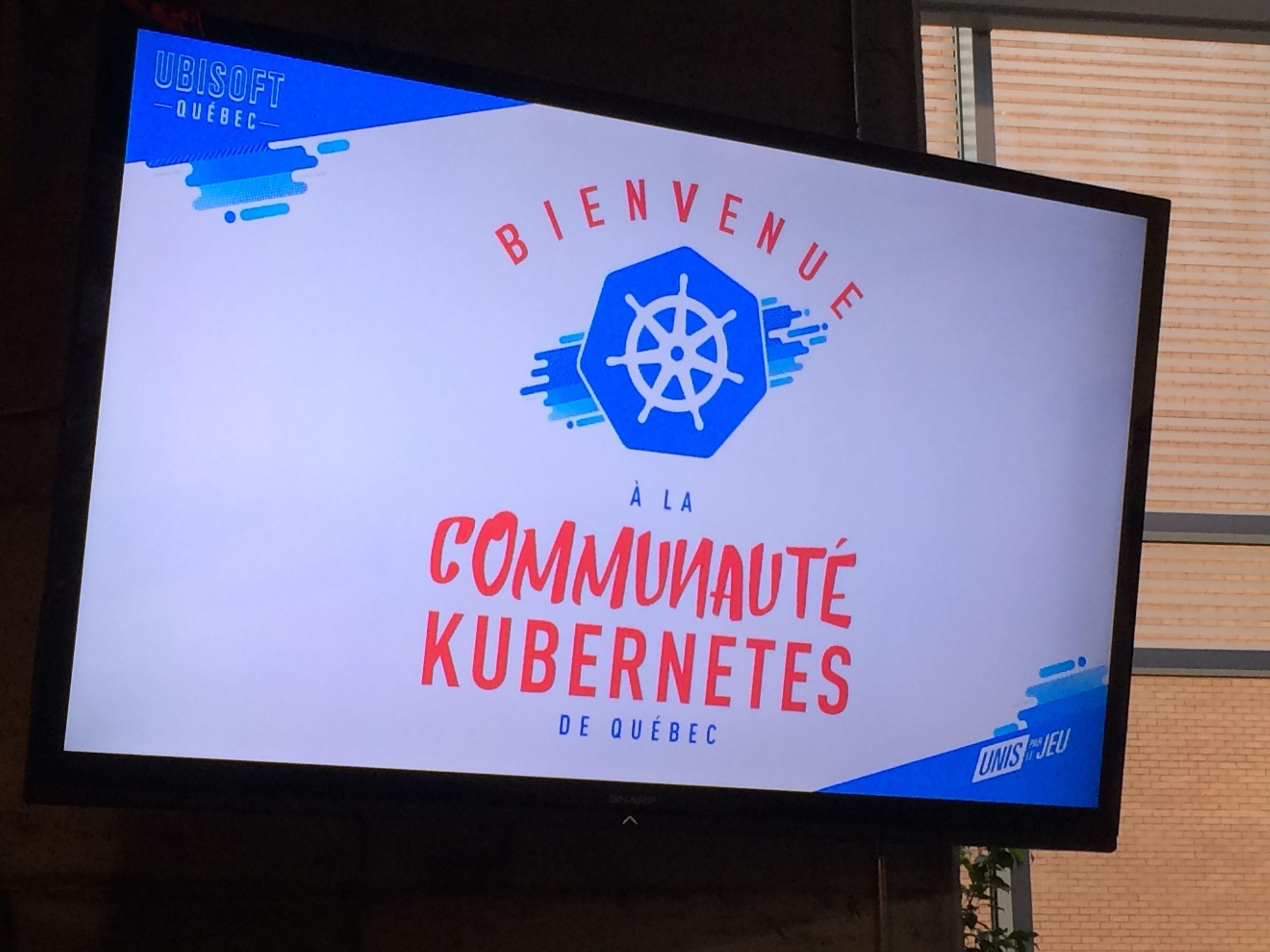 Kubernetes and Cloud Native Québec