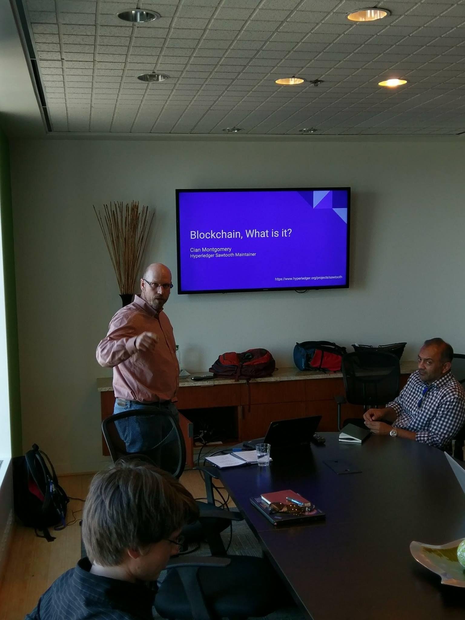 Portland Enterprise Blockchain Meetup