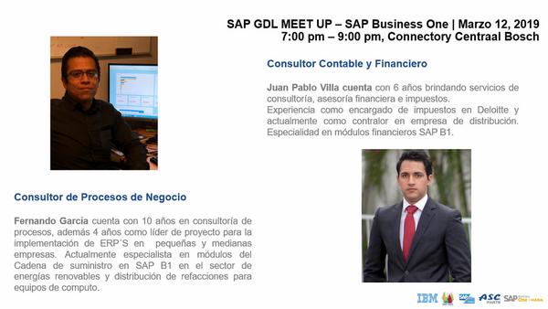 Sap Gdl Meet Up Sap Business One Meetup