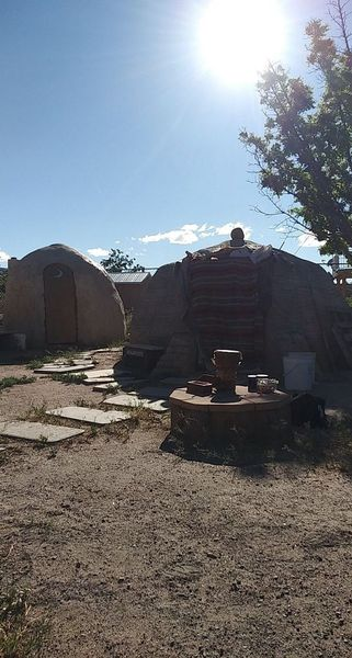 Healing Sweat Lodge With Raven