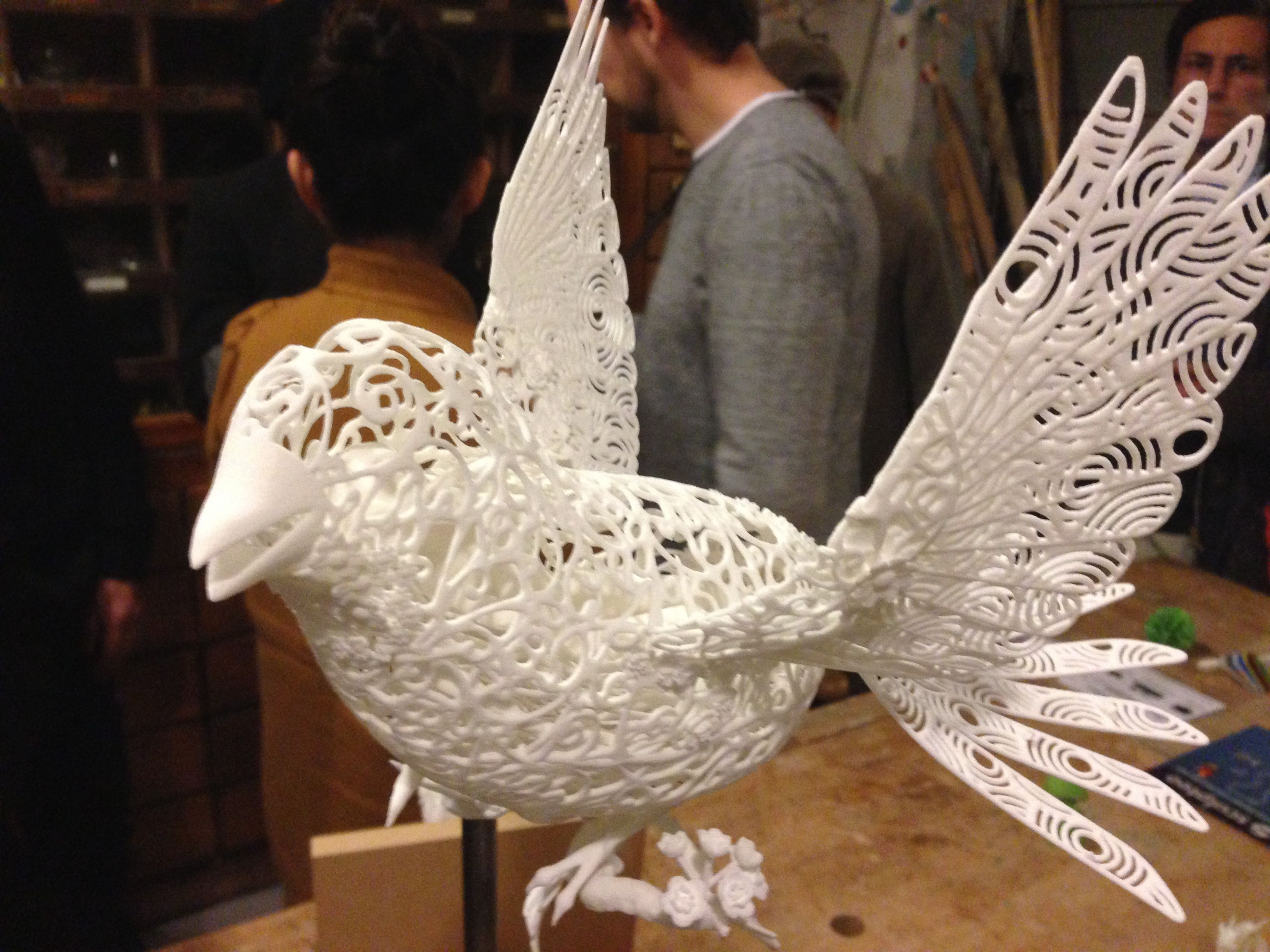 3D Printing  and Laser Cutting Meetup by Sculpteo