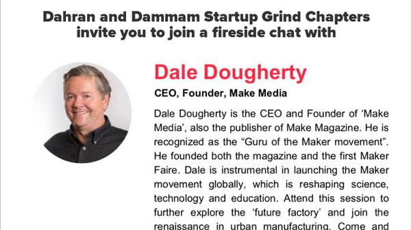 Fireside Chat with Dale Dougherty (Make Media) | Meetup