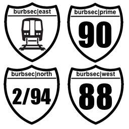 Burbsec|Prime|West|North|East