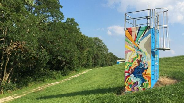 Heathens in Nature: Licking River Greenway Trails and Murals