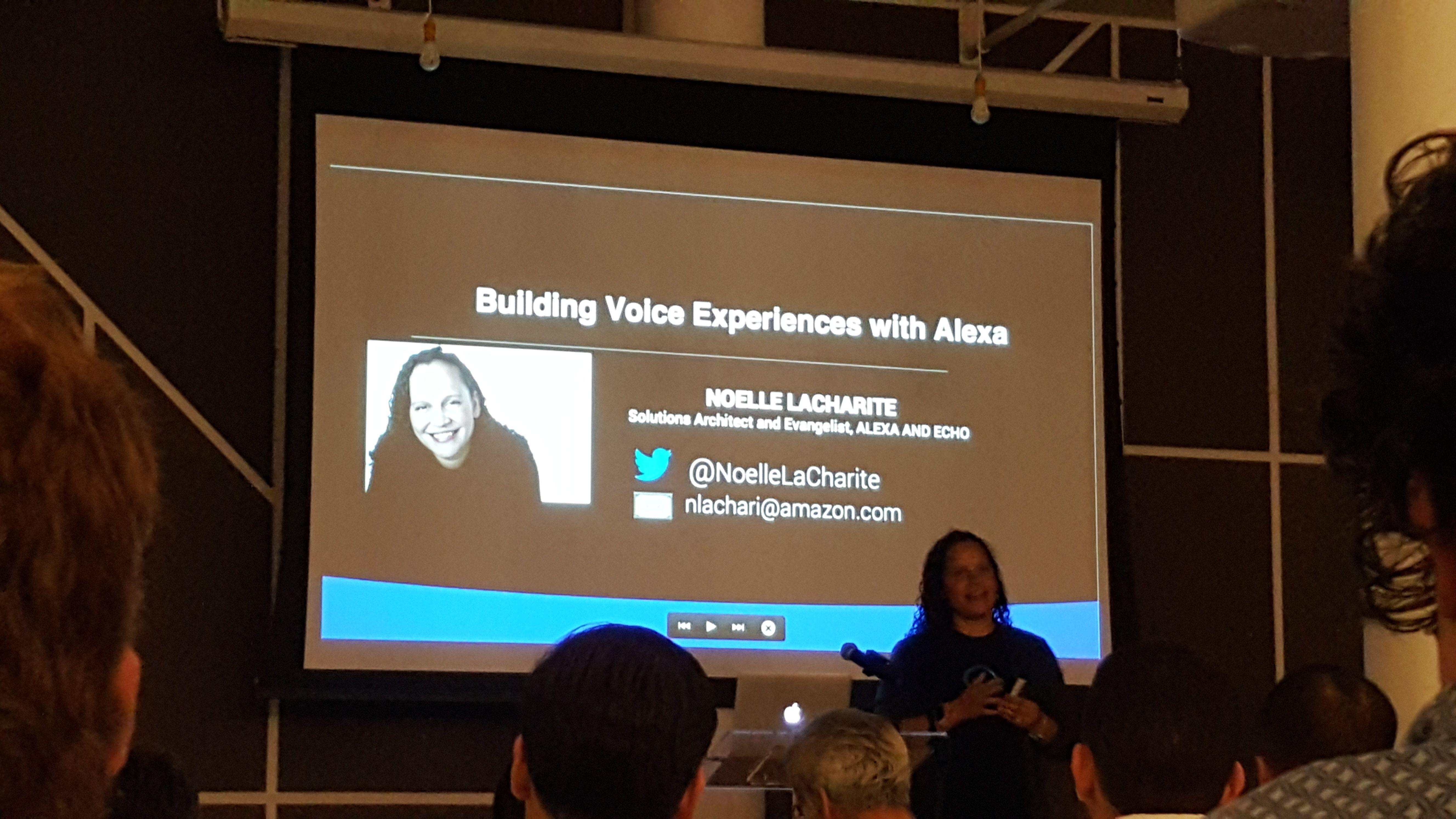 Photos nyc voice assistant meetup new york ny meetup for Voice assistant italiano