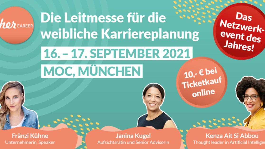 herCAREER - Karrieremesse für die weibliche Karriereplanung
