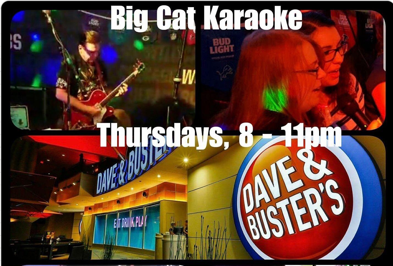 Dave & Busters Karaoke Night