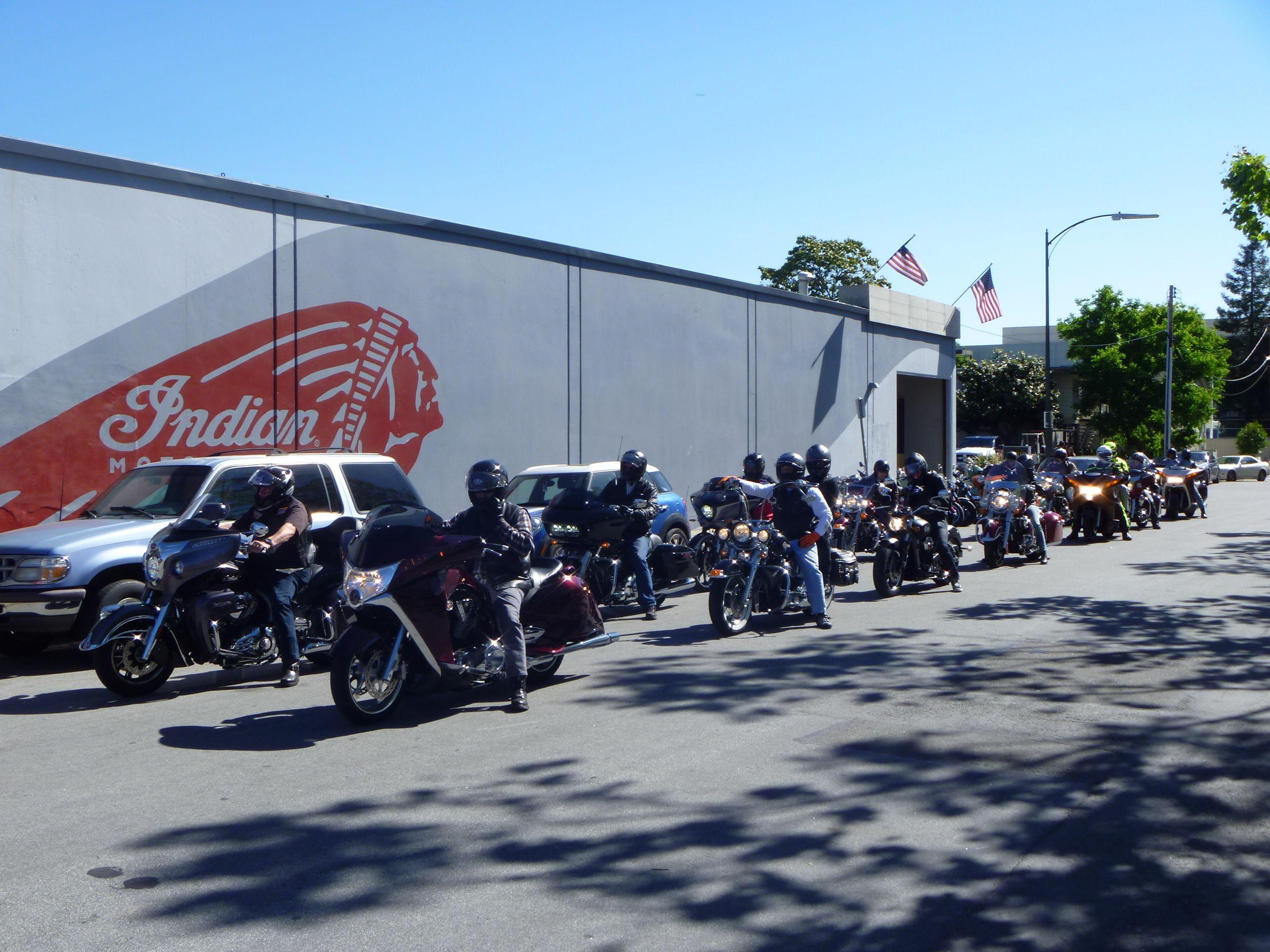 Spirit Motorcycles San Jose Riding Group