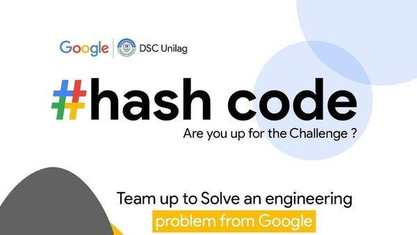 HASH CODE ➕ DSC UNILAG | Meetup