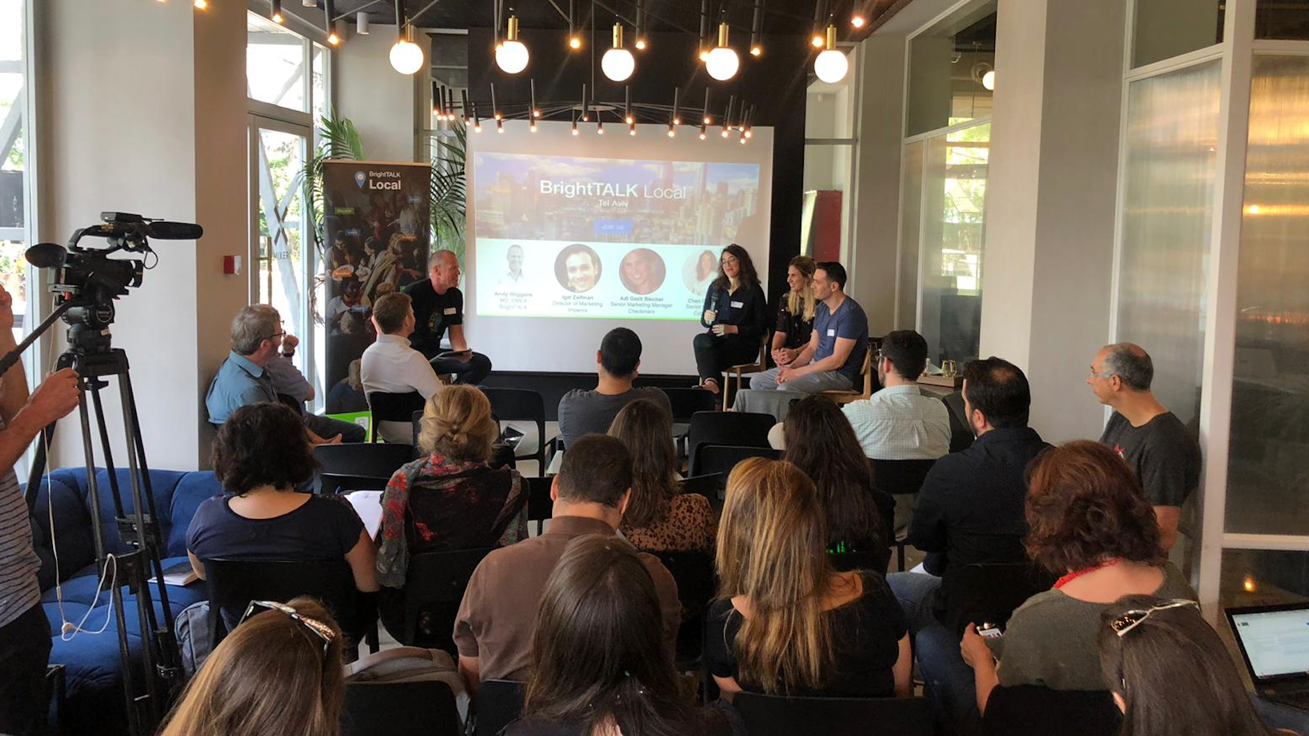 BrightTALK Local - B2B Marketers Meet Up Tel Aviv
