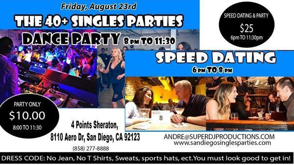 Speed Dating San Diego ponad 40 niedźwiedź randki uk