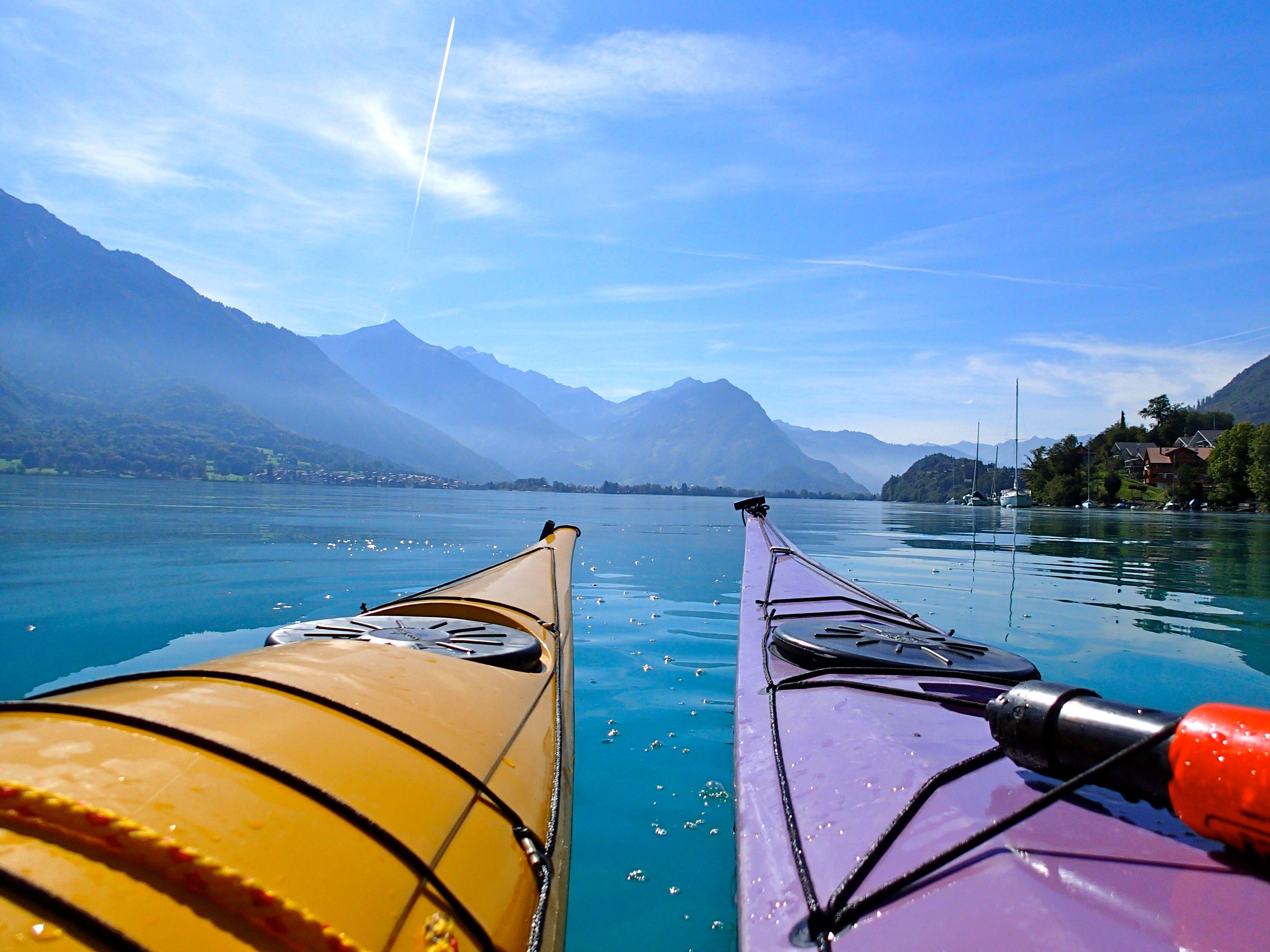 Lake Lucerne, Urnersee: Kayaking Weekend