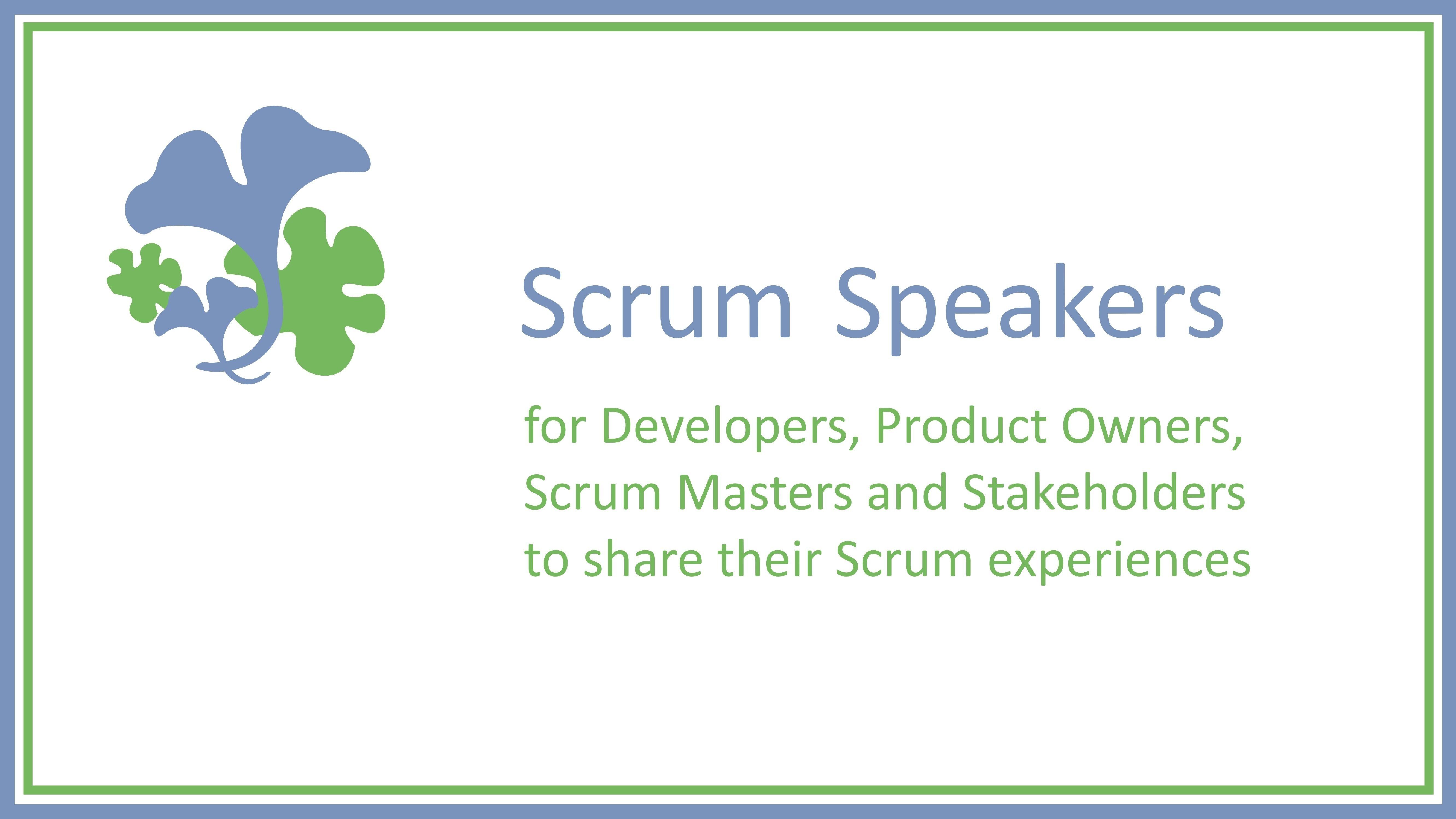 Scrum Speakers