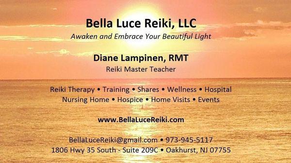 Bella Luce Reiki of Monmouth (Oakhurst, NJ)