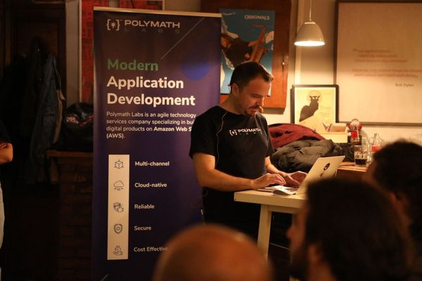 Visar Gashi Polymath Labs AWS Kosovo serverless Cloud Native presentation