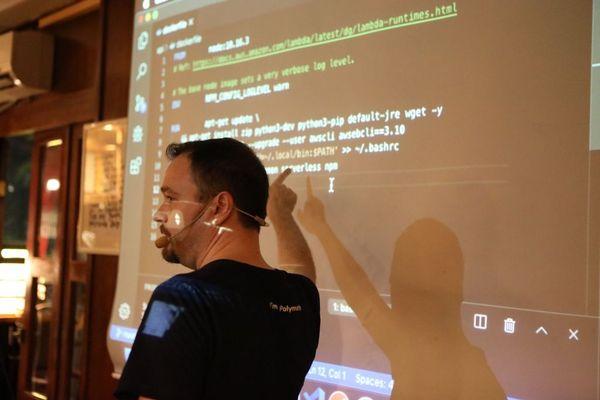 Visar Gashi Polymath Labs AWS Kosovo serverless Cloud Native live code demonstration