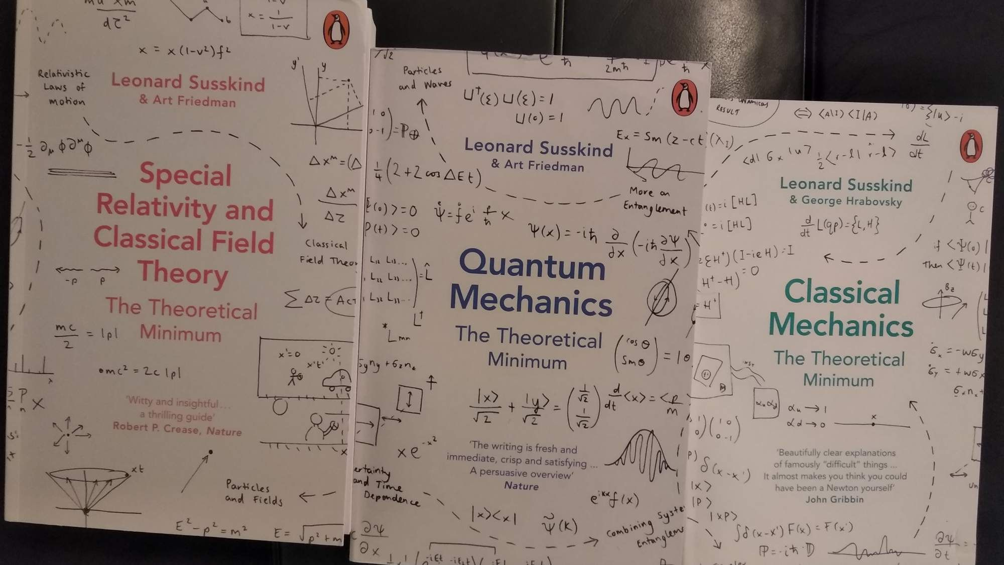 Physics for math minded enthusiasts