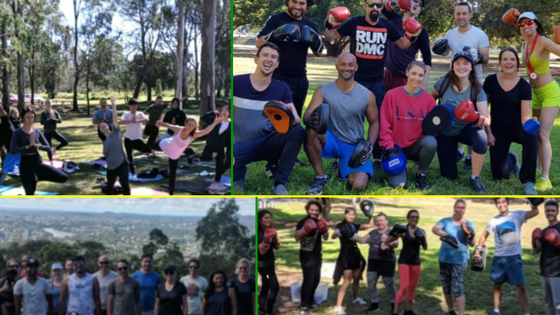 Healthy Life Outdoors exercise and meditation