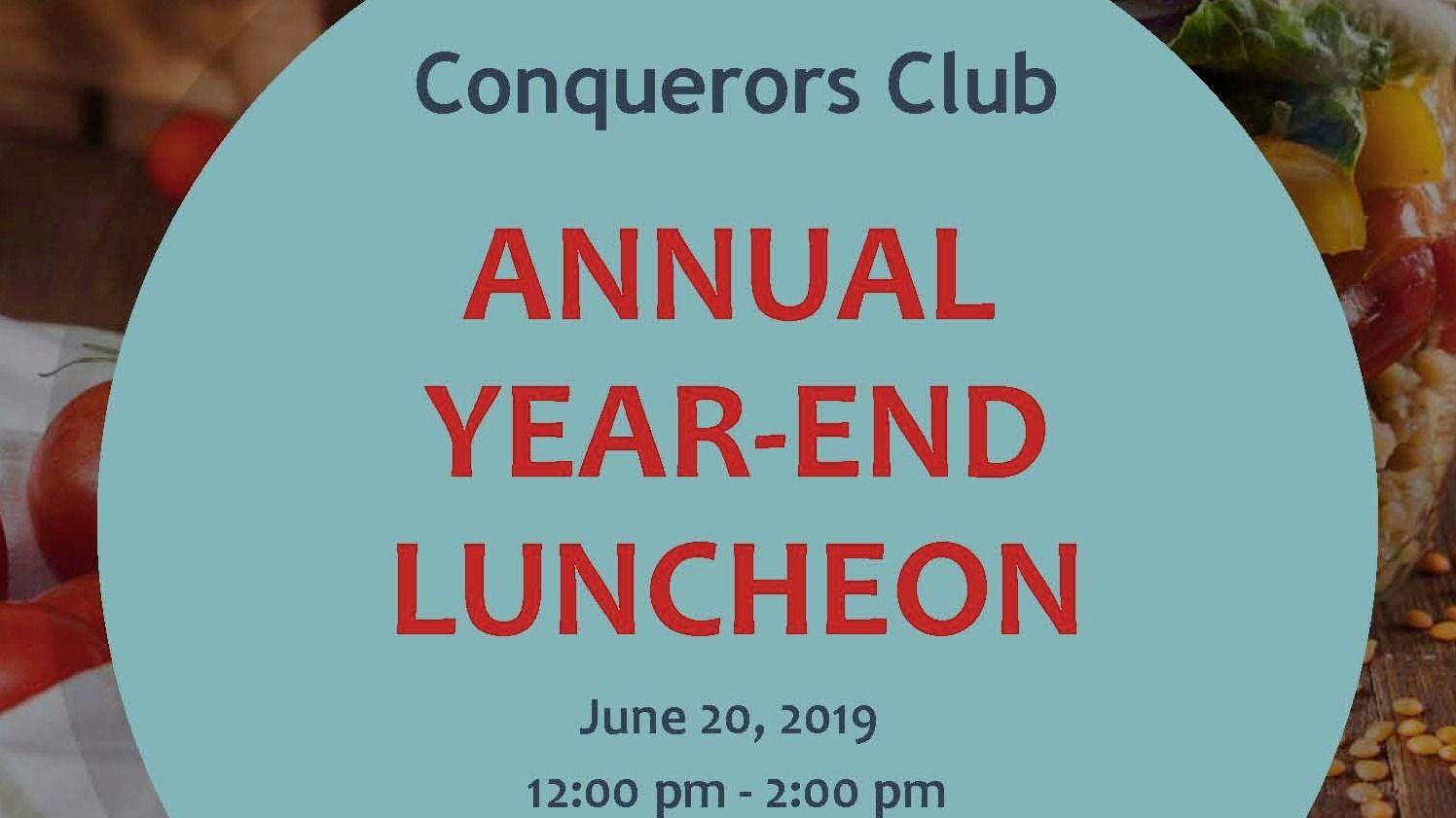 Conqueror's Club Toastmasters