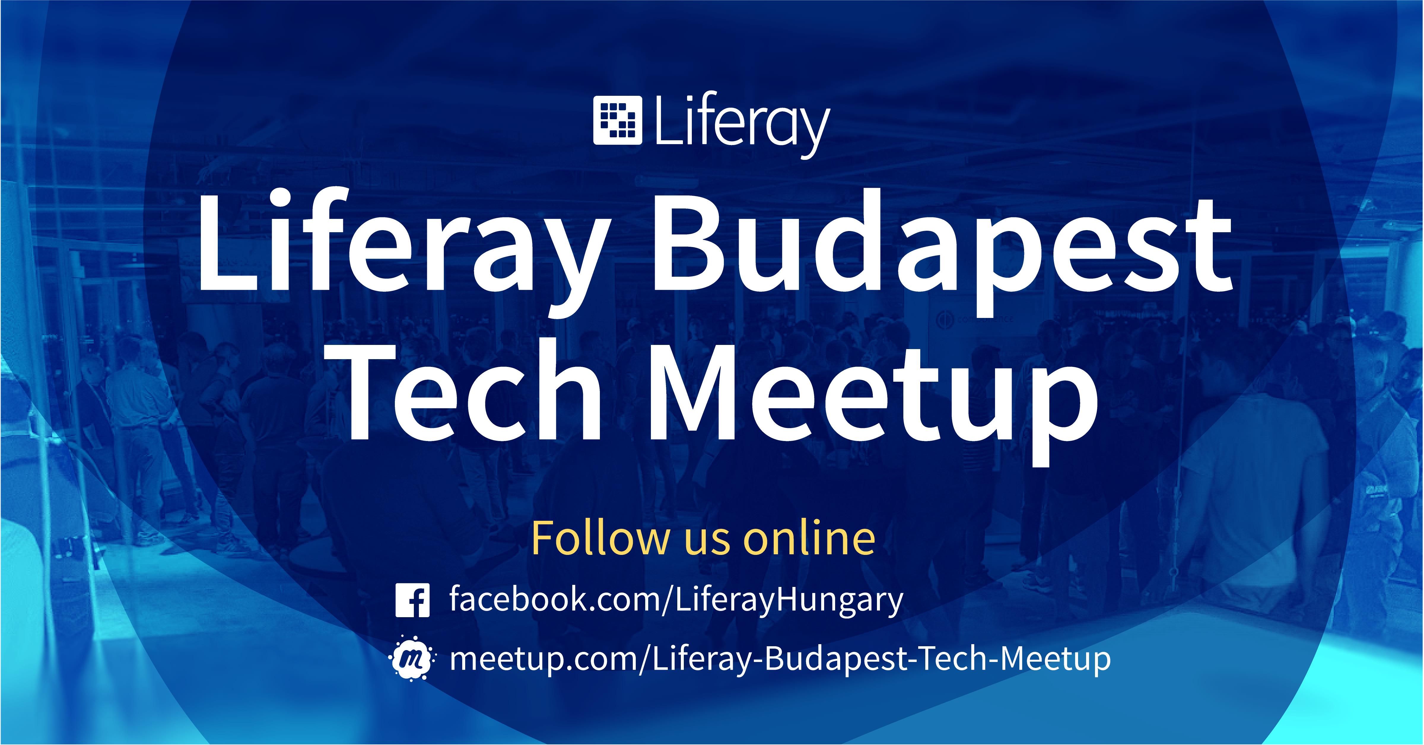 Liferay Budapest Tech Meetup