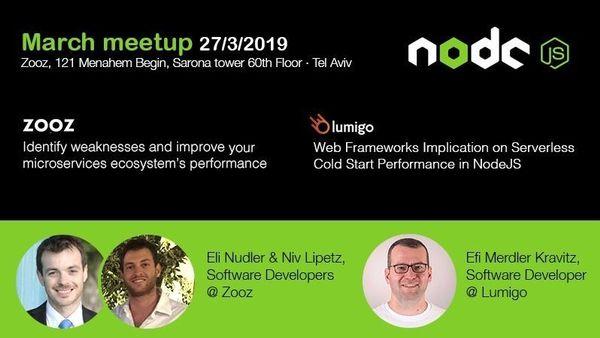 March Node js monthly meetup | Meetup