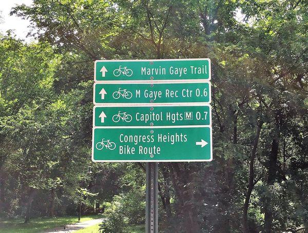 Bike the Marvin Gaye Trail