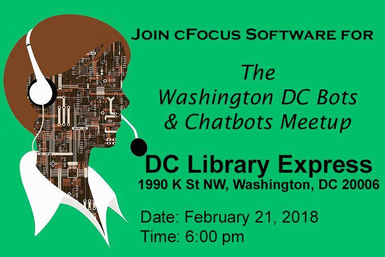 Washington DC Bots and Chatbots Meetup