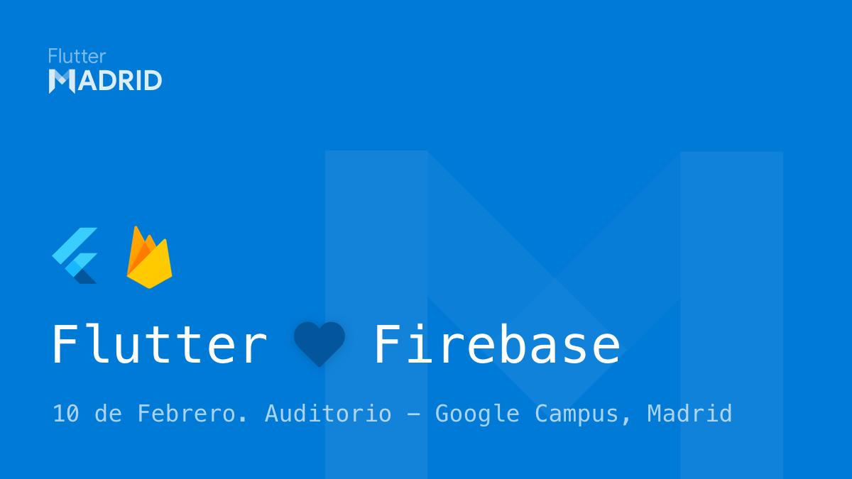 Imagen del evento Flutter y Firebase