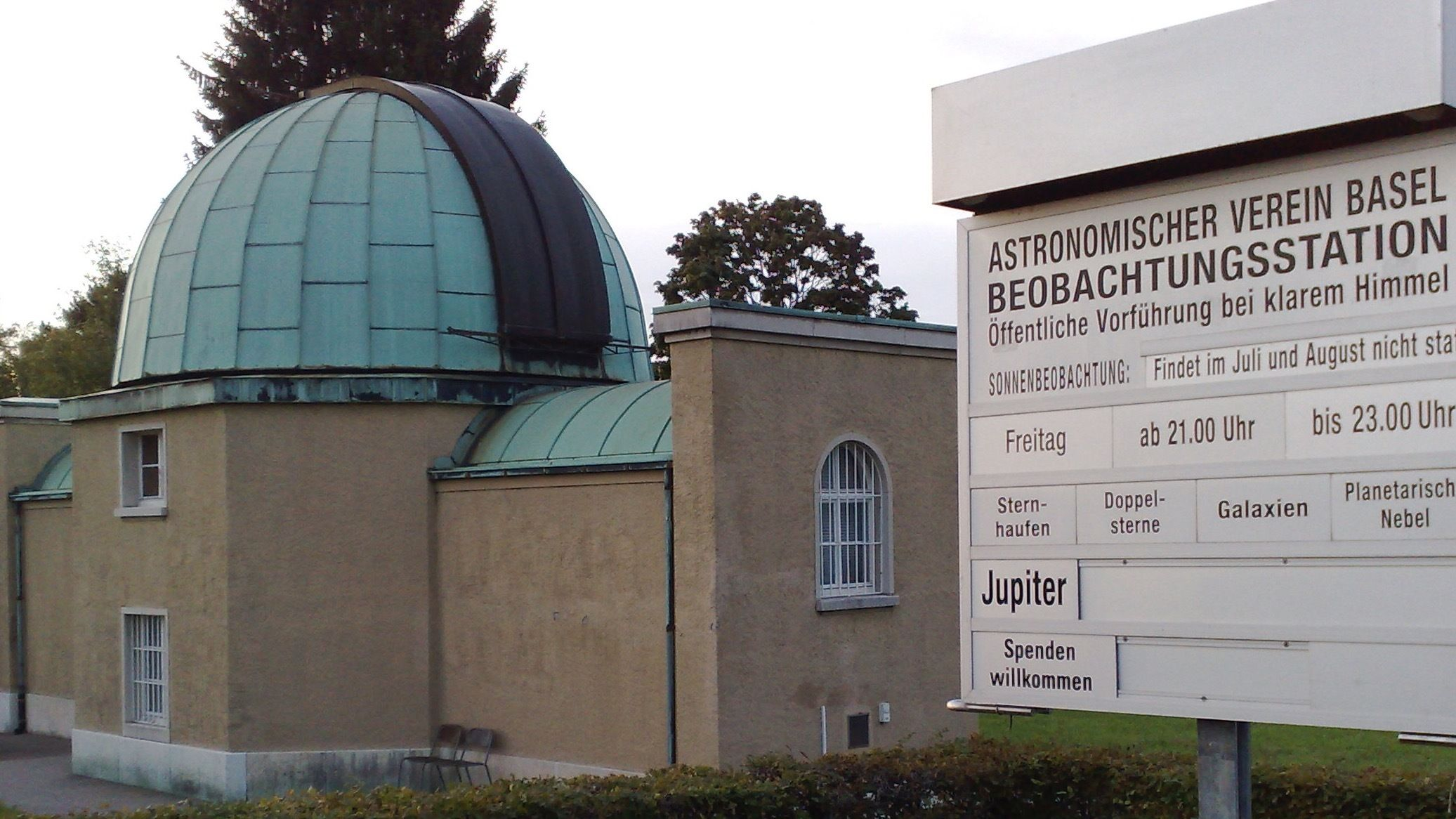 Visit to the observatory