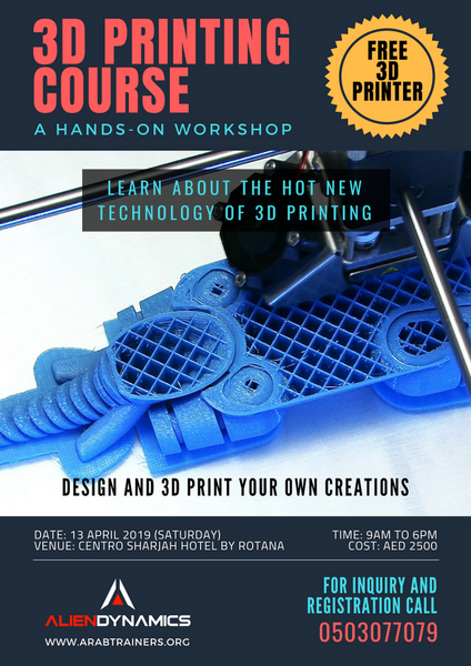 3D Printing Course - A hands-on workshop | Meetup