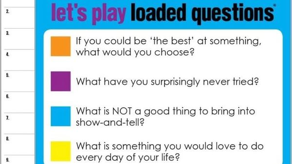 COR Game Night - Loaded Questions